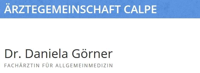 Dr. Görner Calpe Arzt