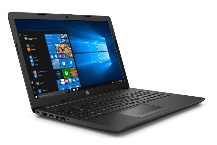 HP Laptop AMD Dual Core 2,6 GHz, Full HD 15,6 cm Zoll Display matt, inkl. Windows 10 und Office 2019
